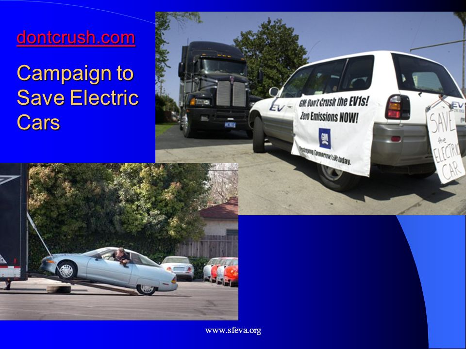 Campaign to Save Electric Cars