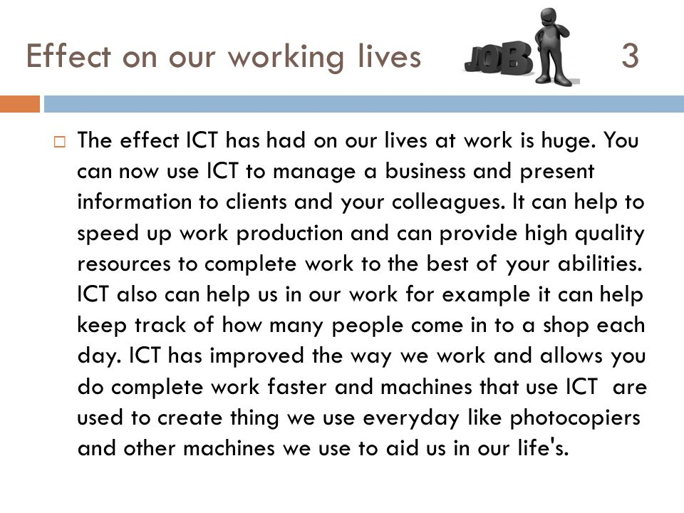 use of ict in society
