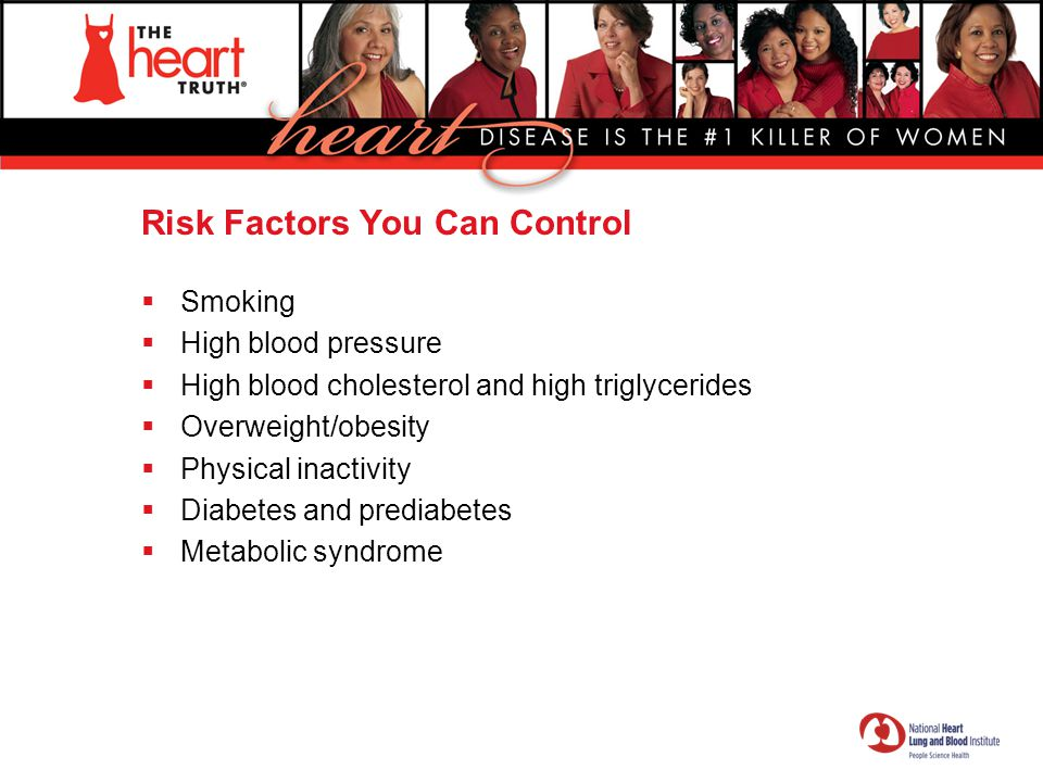 Risk Factors You Can Control