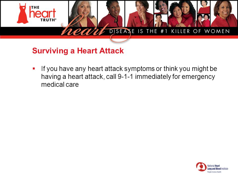 Surviving a Heart Attack