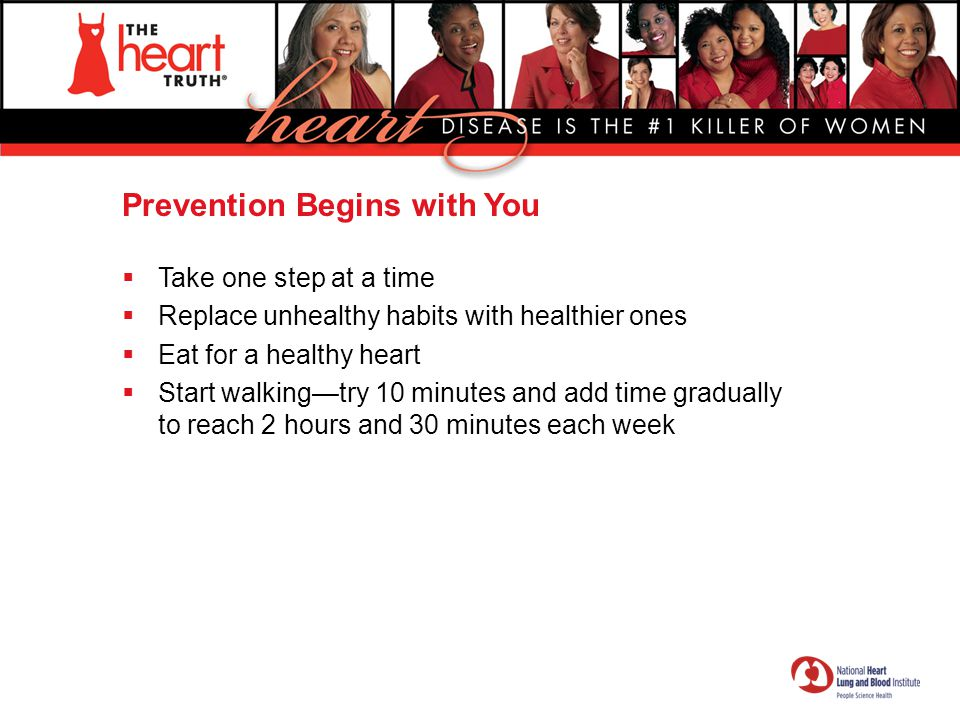 Prevention Begins with You