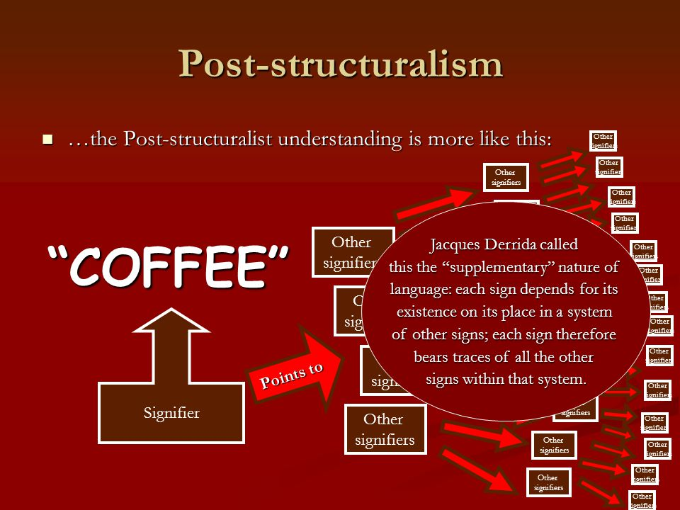 COFFEE Post-structuralism
