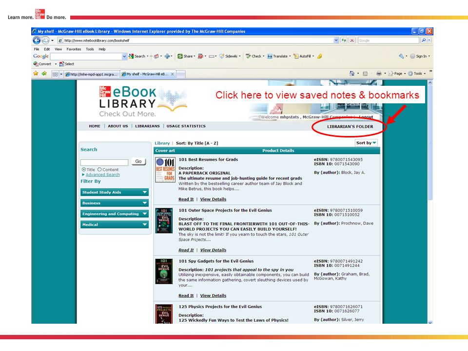 Click here to view saved notes & bookmarks