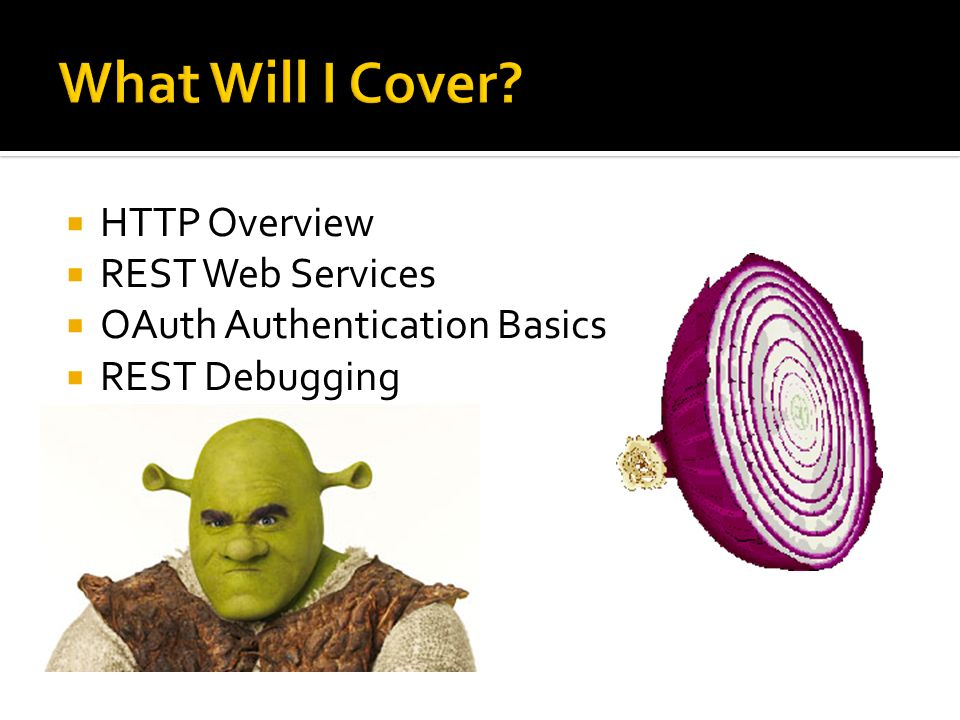 What Will I Cover HTTP Overview REST Web Services