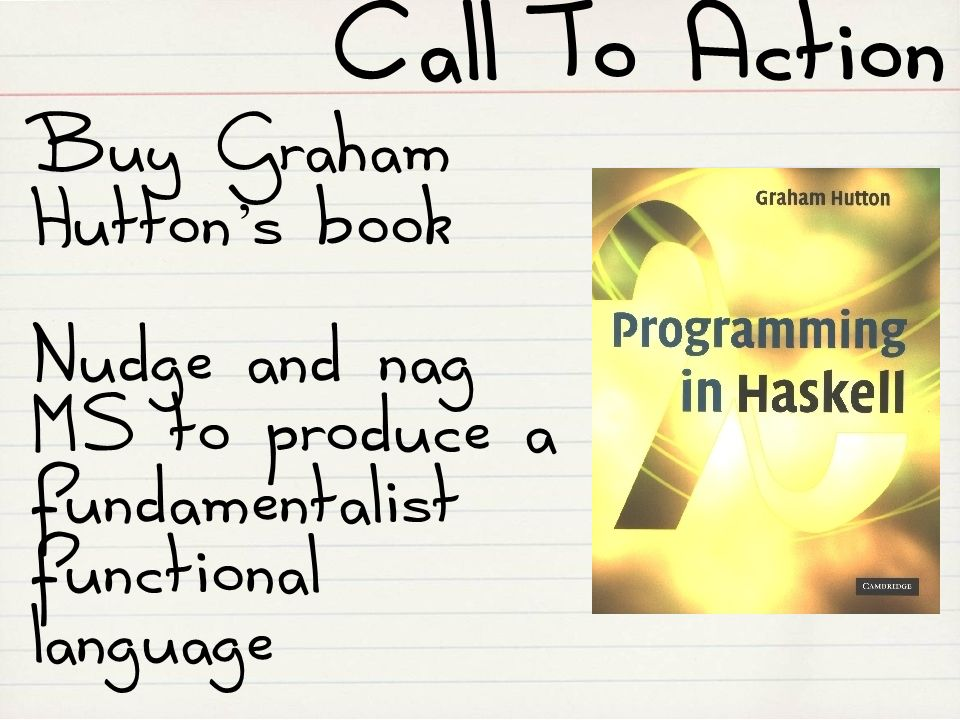 Call To Action Buy Graham Hutton's book