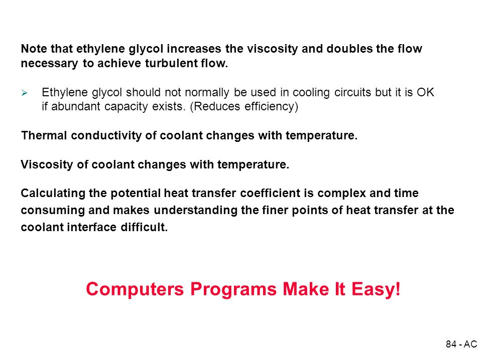 Computers Programs Make It Easy!