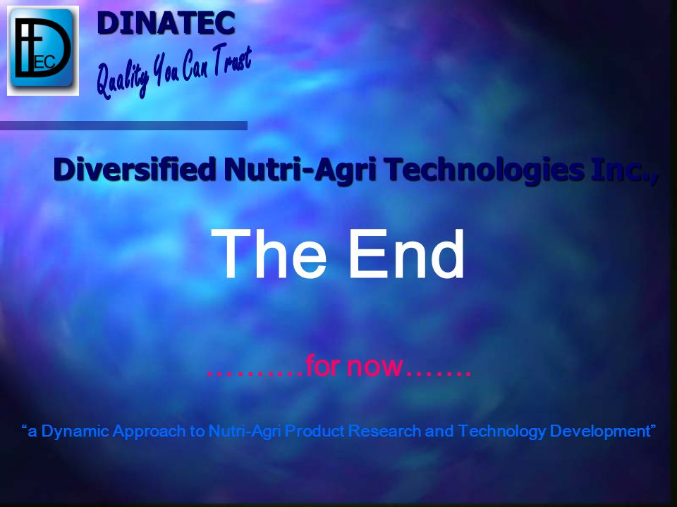 Diversified Nutri-Agri Technologies Inc.,