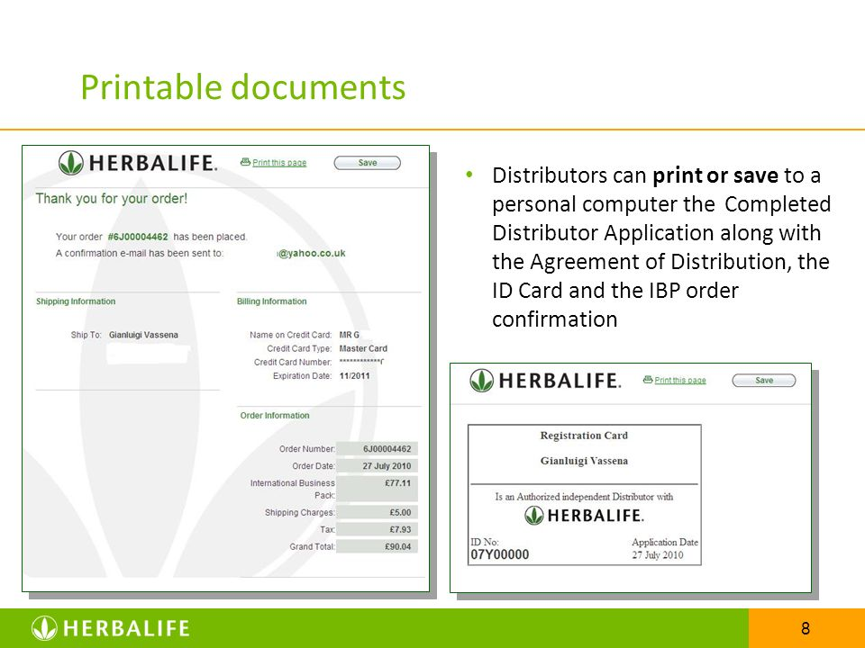 Printable documents