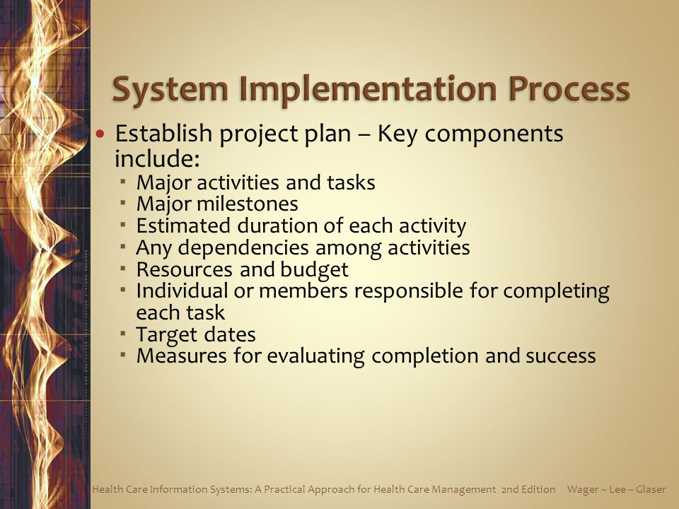 System Implementation Process