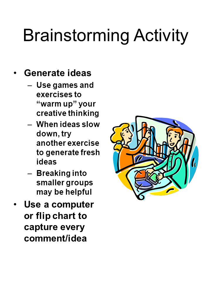 Brainstorming Activity