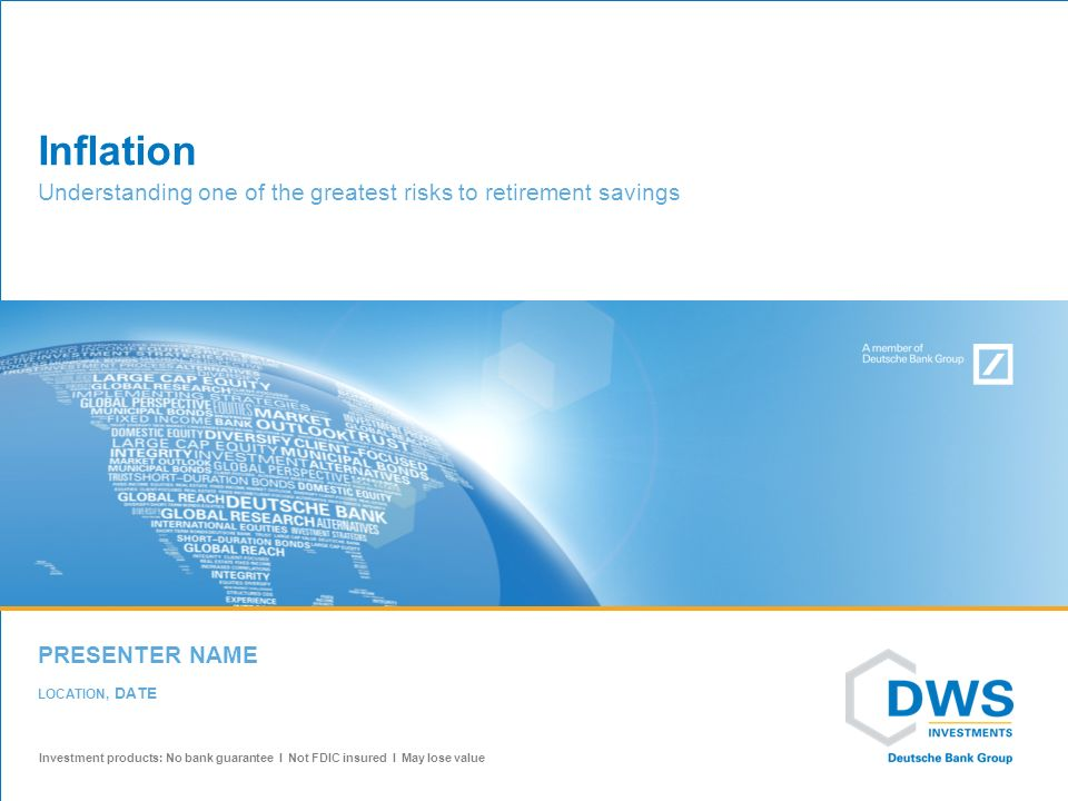 dws investments savings
