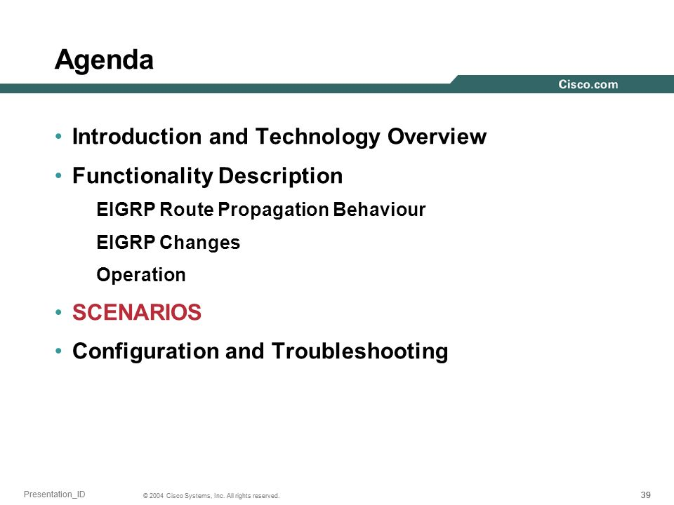 Agenda Introduction and Technology Overview Functionality Description