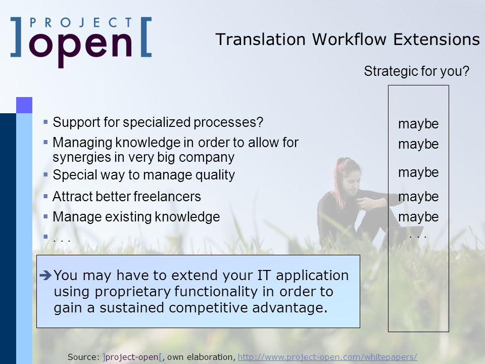 Translation Workflow Extensions