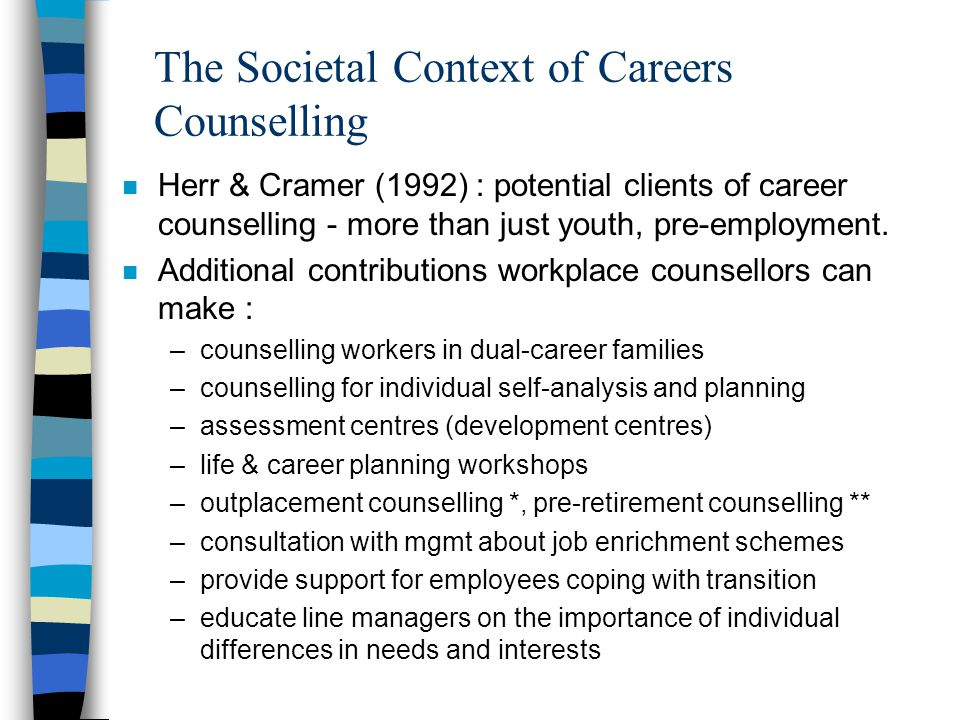 The Societal Context of Careers Counselling