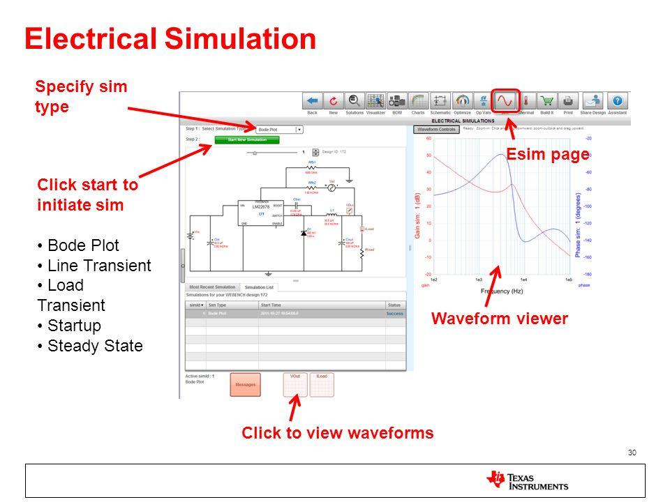 Electrical Simulation