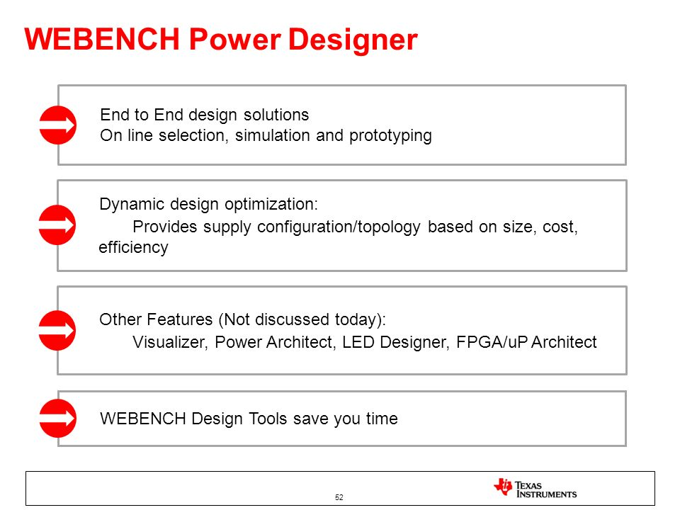 WEBENCH Power Designer