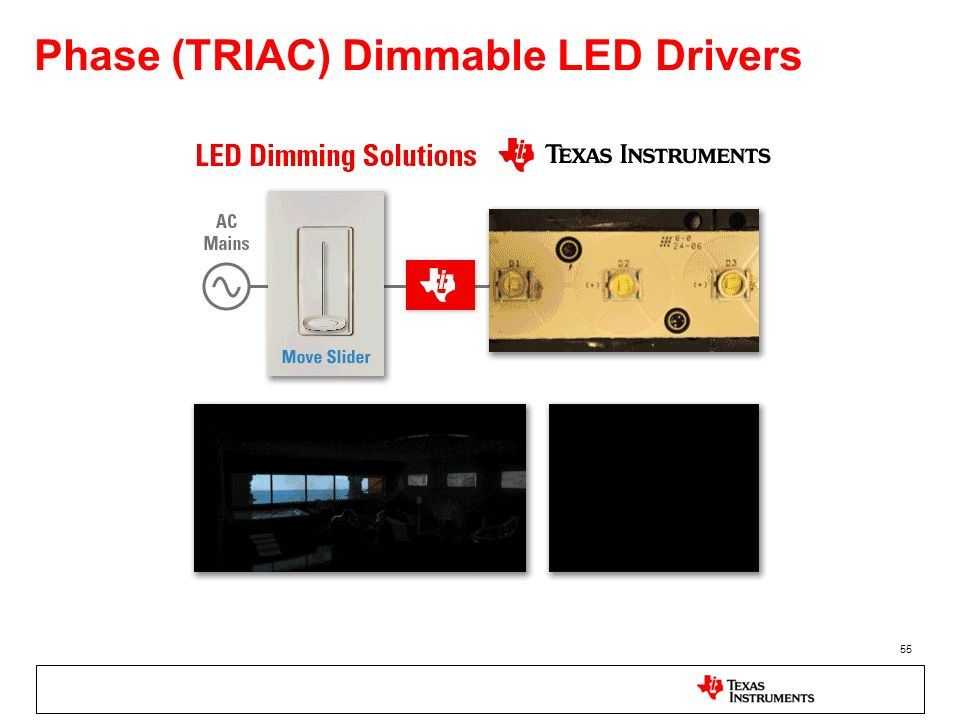 Phase (TRIAC) Dimmable LED Drivers