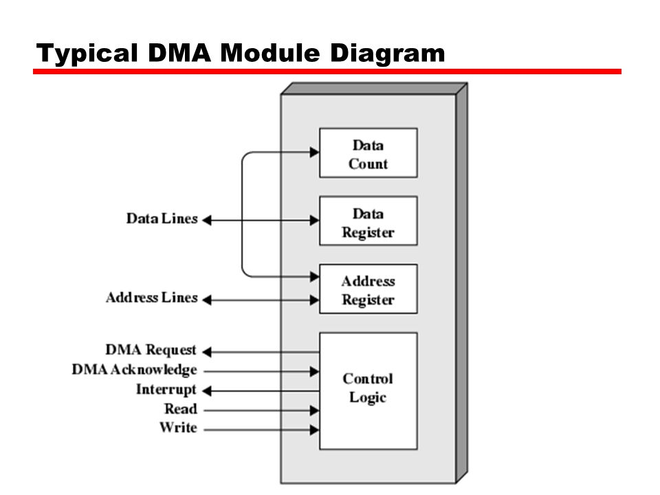 Typical DMA Module Diagram