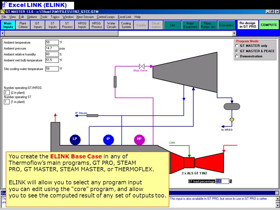 WHAT IS ELINK? Thermoflow, Inc  - ppt download