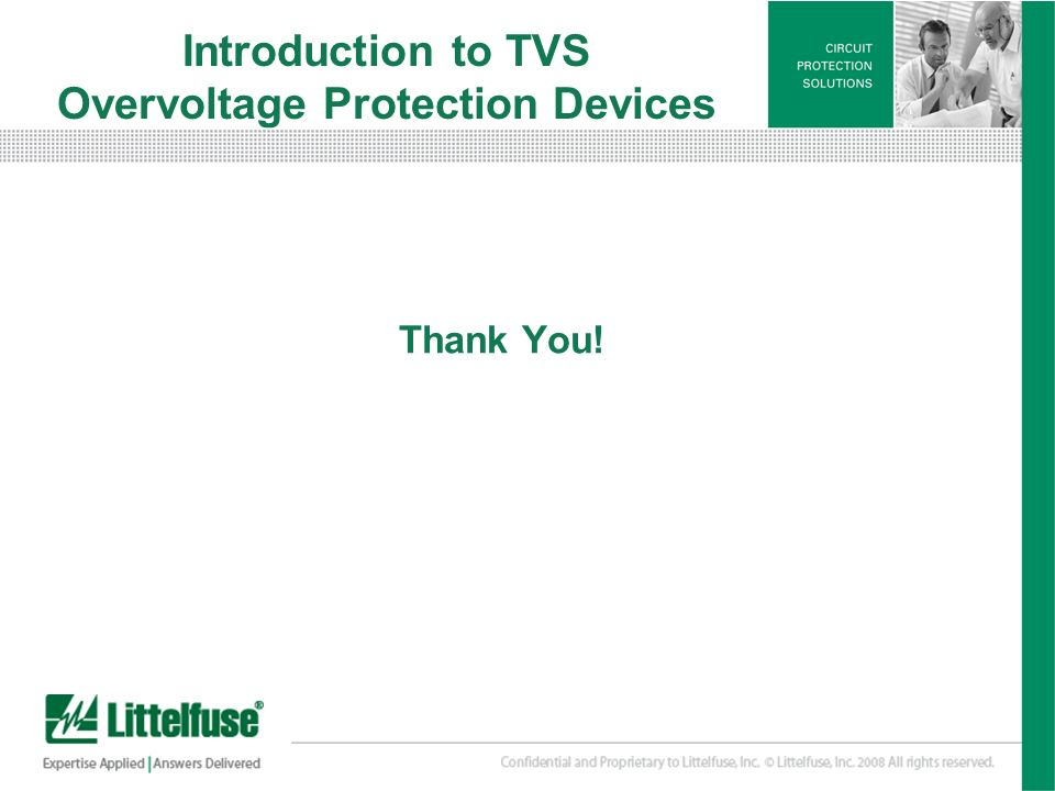 Introduction to TVS Overvoltage Protection Devices