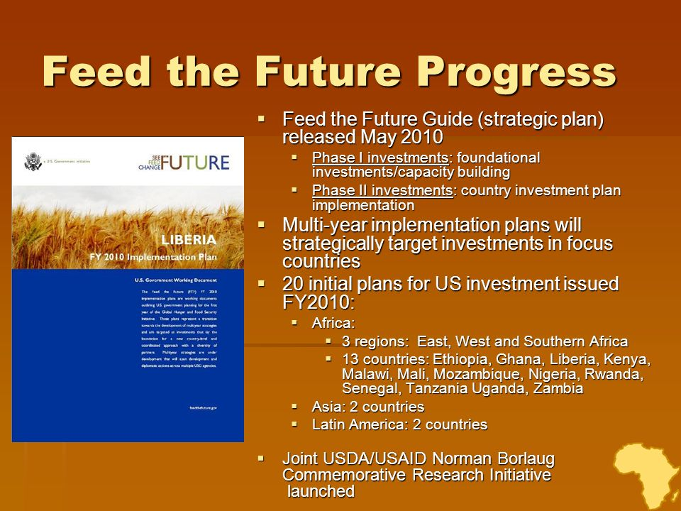 Feed the Future Progress
