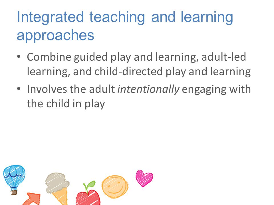 Integrated teaching and learning approaches