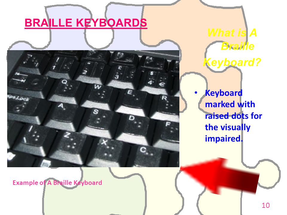 What is A Braille Keyboard