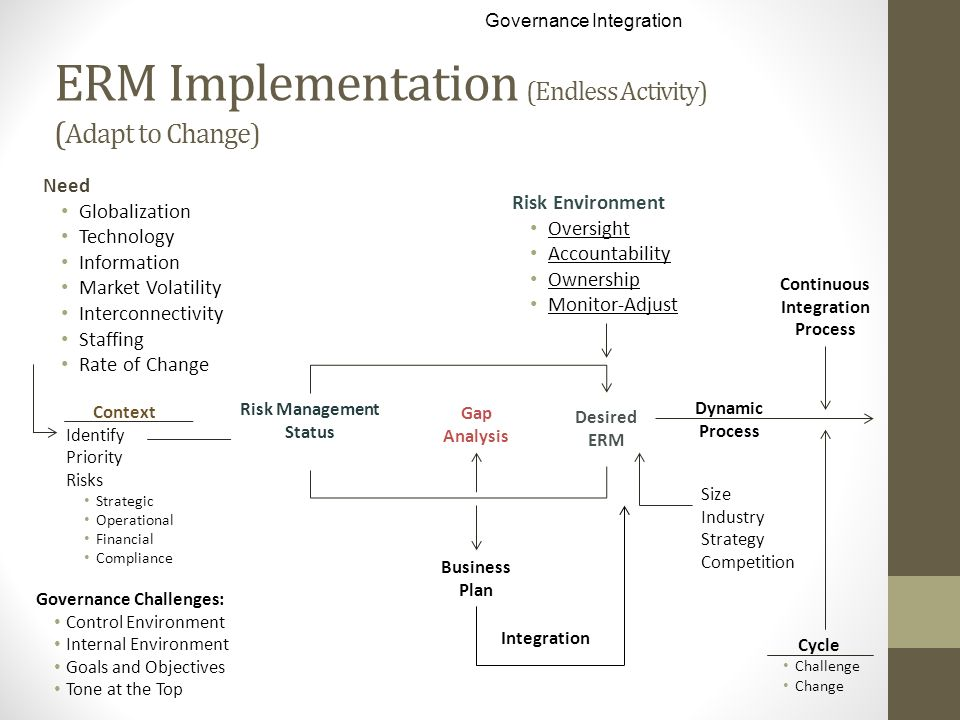 ERM Implementation (Endless Activity) (Adapt to Change)