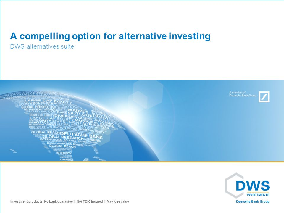 A compelling option for alternative investing