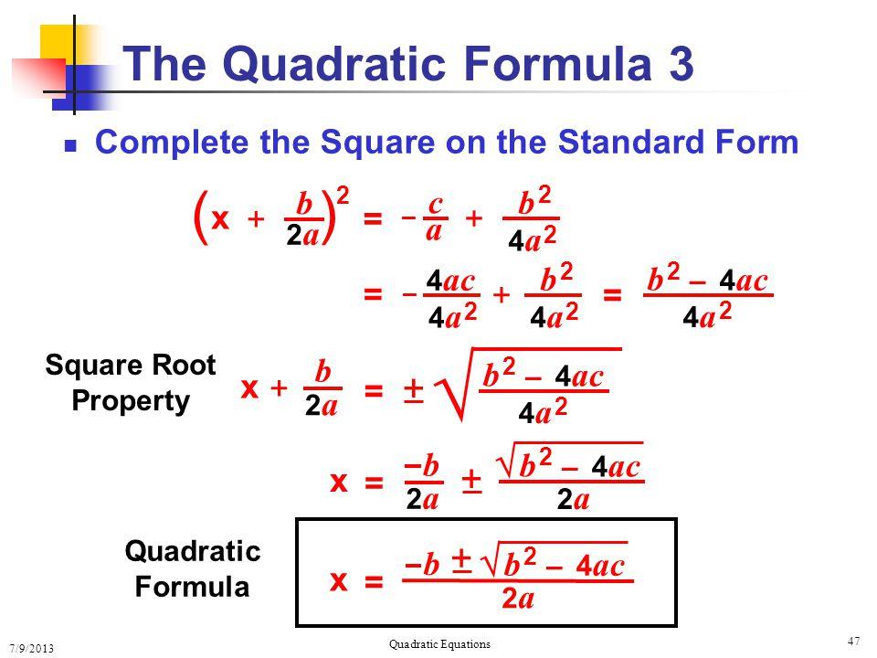 solving quadratic equations solving quadratic equations ppt download