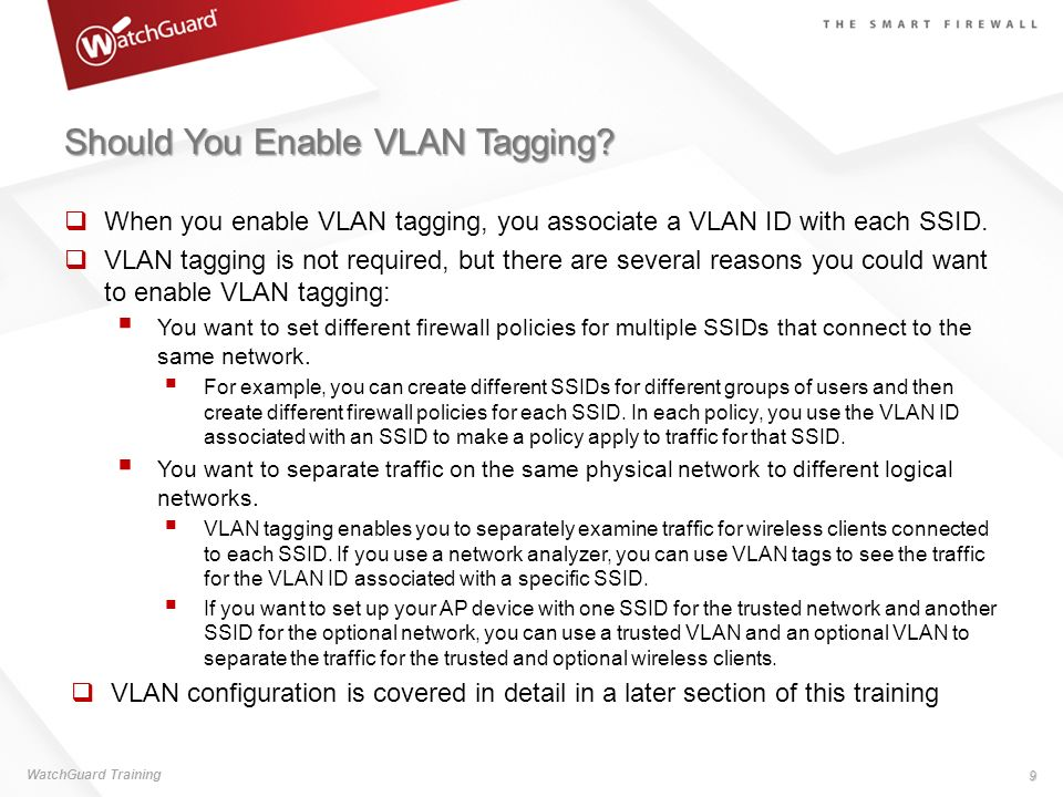 Should You Enable VLAN Tagging