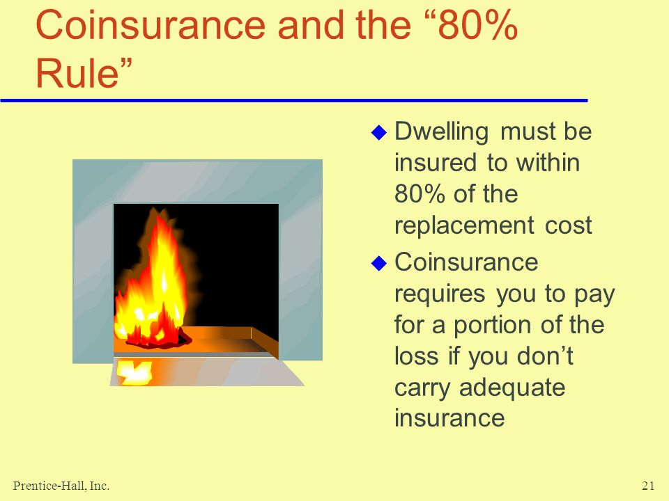 Coinsurance and the 80% Rule