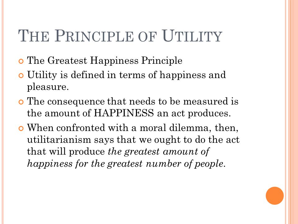 john stuart mill greatest happiness principle