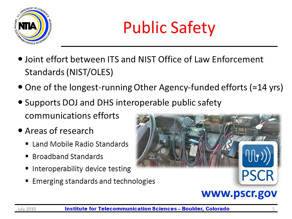 Public Safety www.pscr.gov