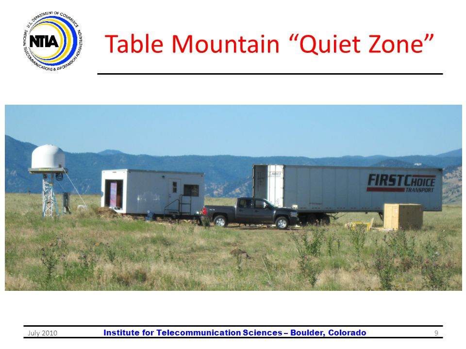 Table Mountain Quiet Zone