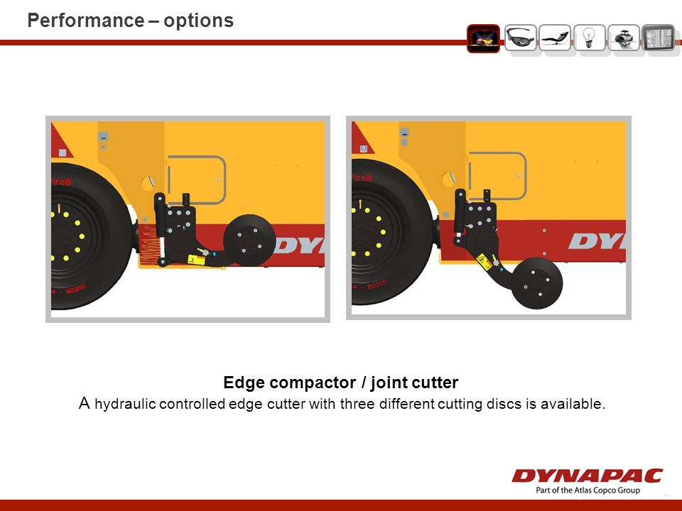 Edge compactor / joint cutter