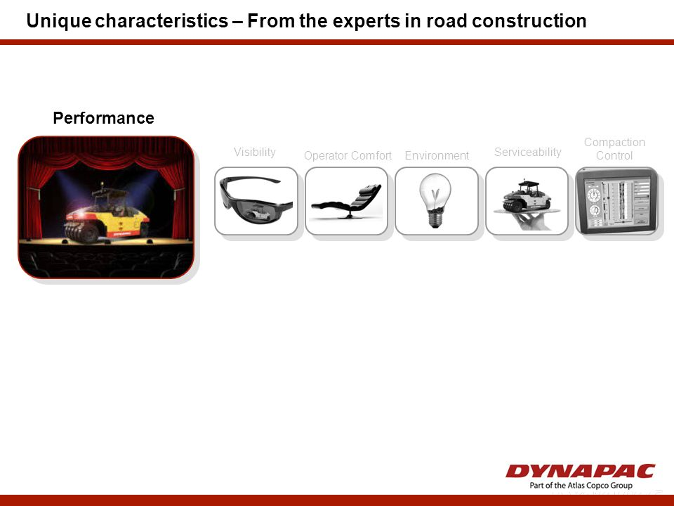 Unique characteristics – From the experts in road construction
