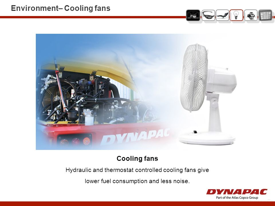 Environment– Cooling fans