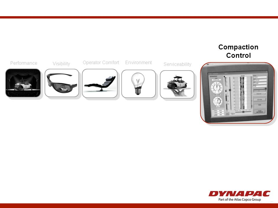 Compaction Control Performance Visibility Operator Comfort Environment