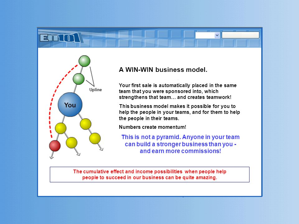 A WIN-WIN business model.