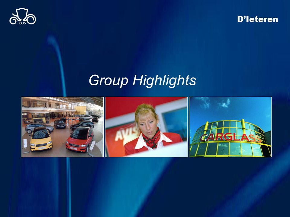 D'Ieteren Group Highlights