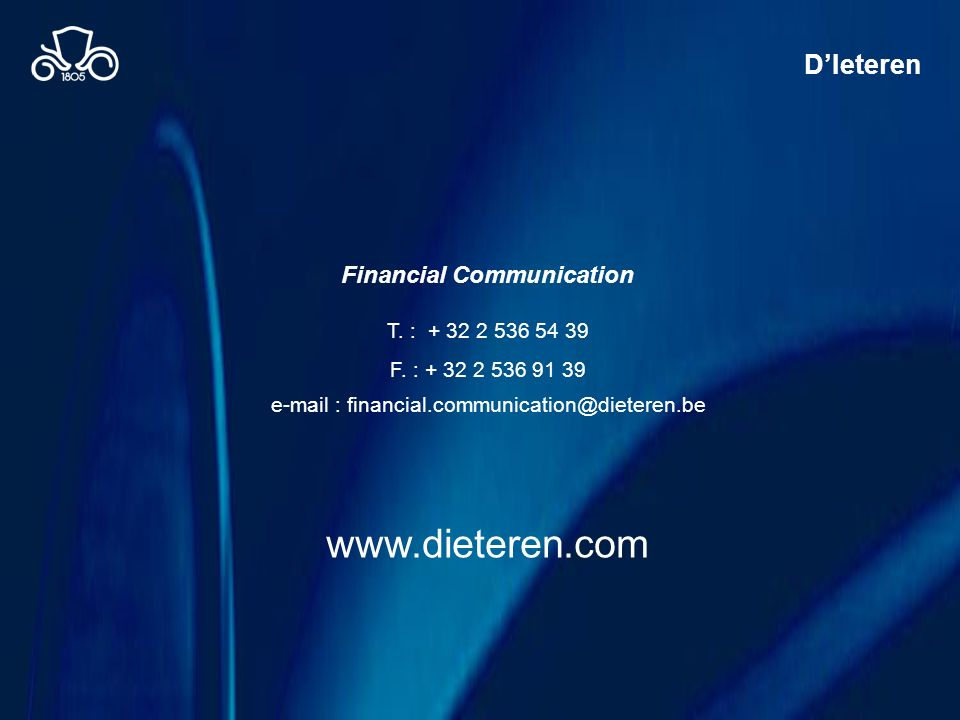 Financial Communication