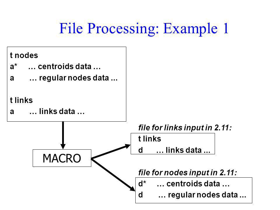 File Processing: Example 1