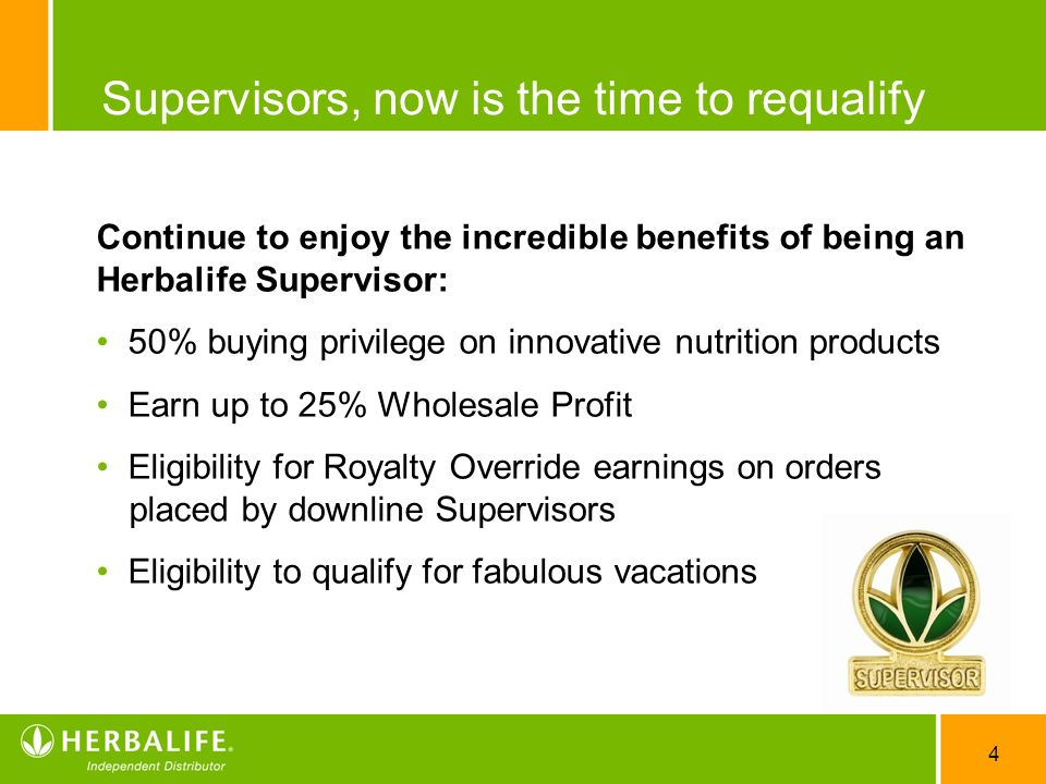 Supervisors, now is the time to requalify