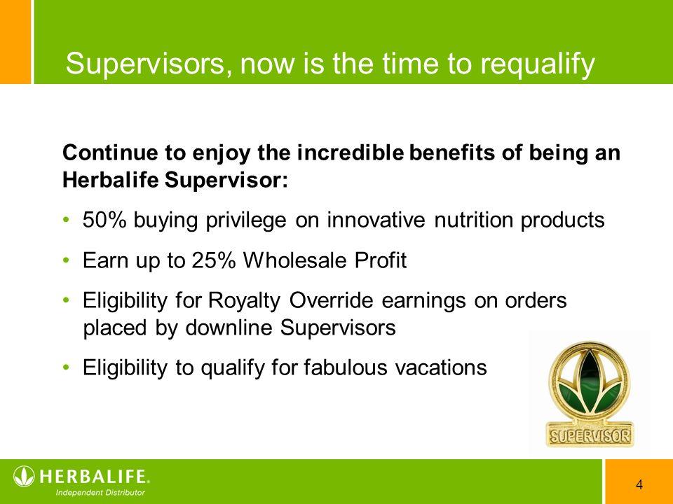 4 supervisors