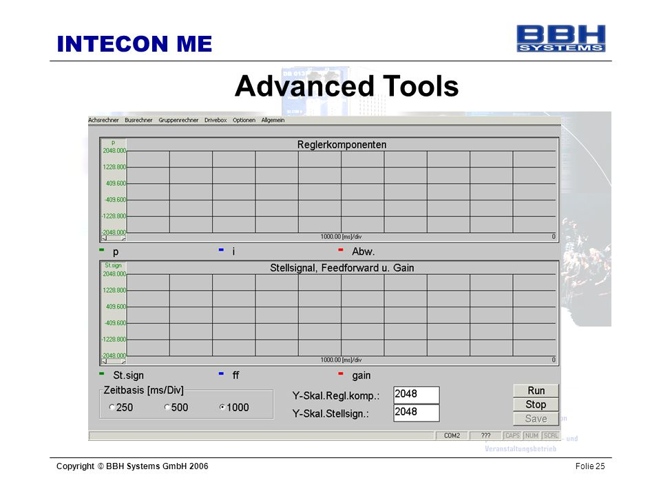 Advanced Tools Copyright © BBH Systems GmbH 2006