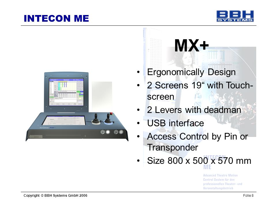 MX+ Ergonomically Design 2 Screens 19 with Touch-screen