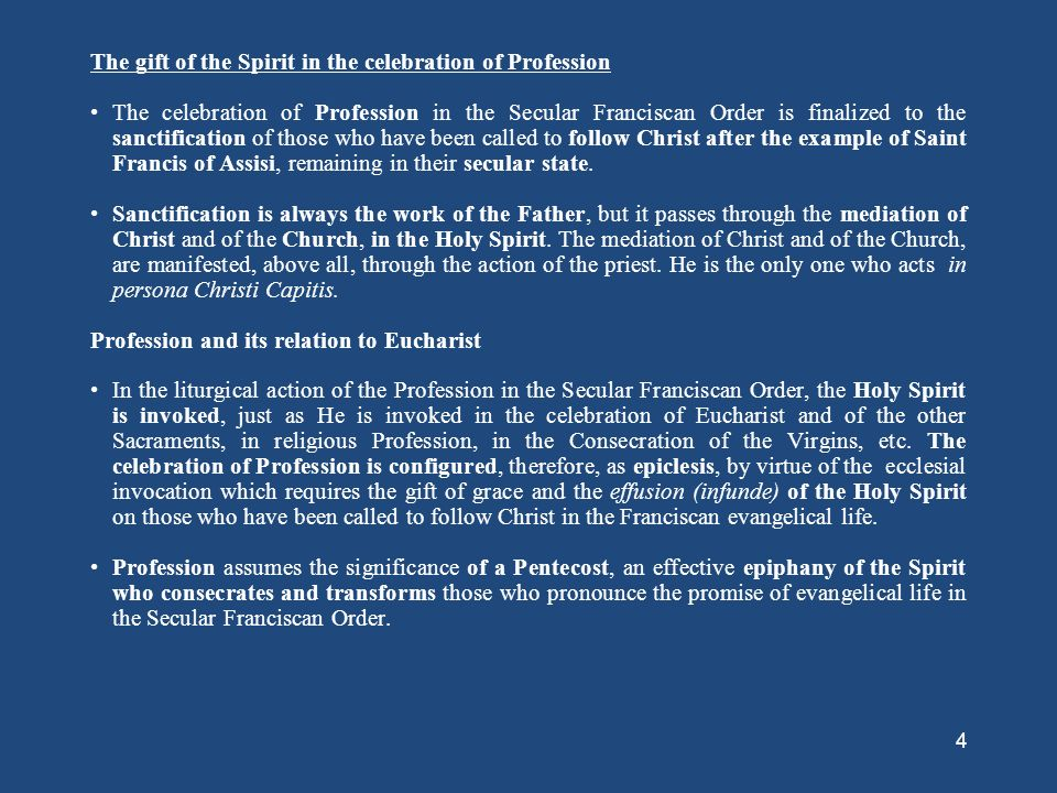 The Grace of Profession - ppt download