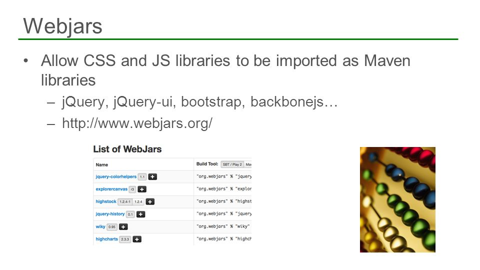 Integrating with jQuery and Bootstrap - ppt download