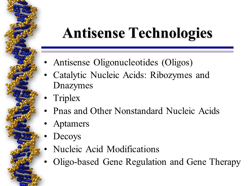 Antisense Technologies